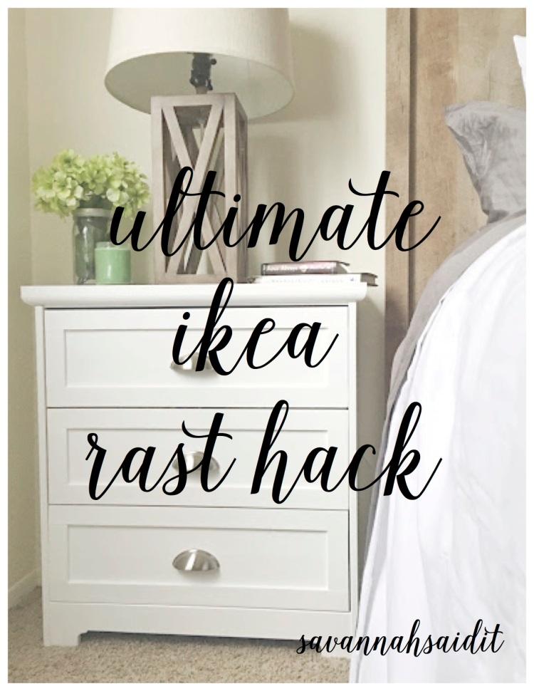 the ultimate ikea rast hack savannah said it
