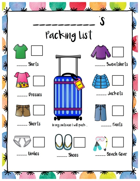 What To Pack For Spring Break 2017 Family Edition Savannah Said It