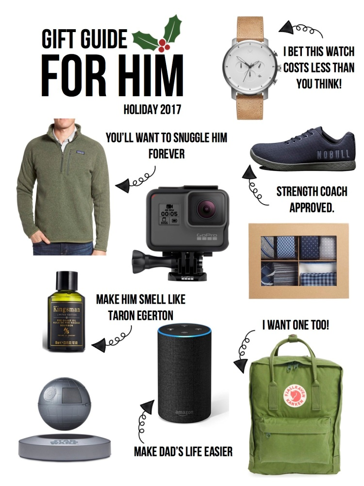 Holiday Gift Guide 2017 For Him Savannah Said It