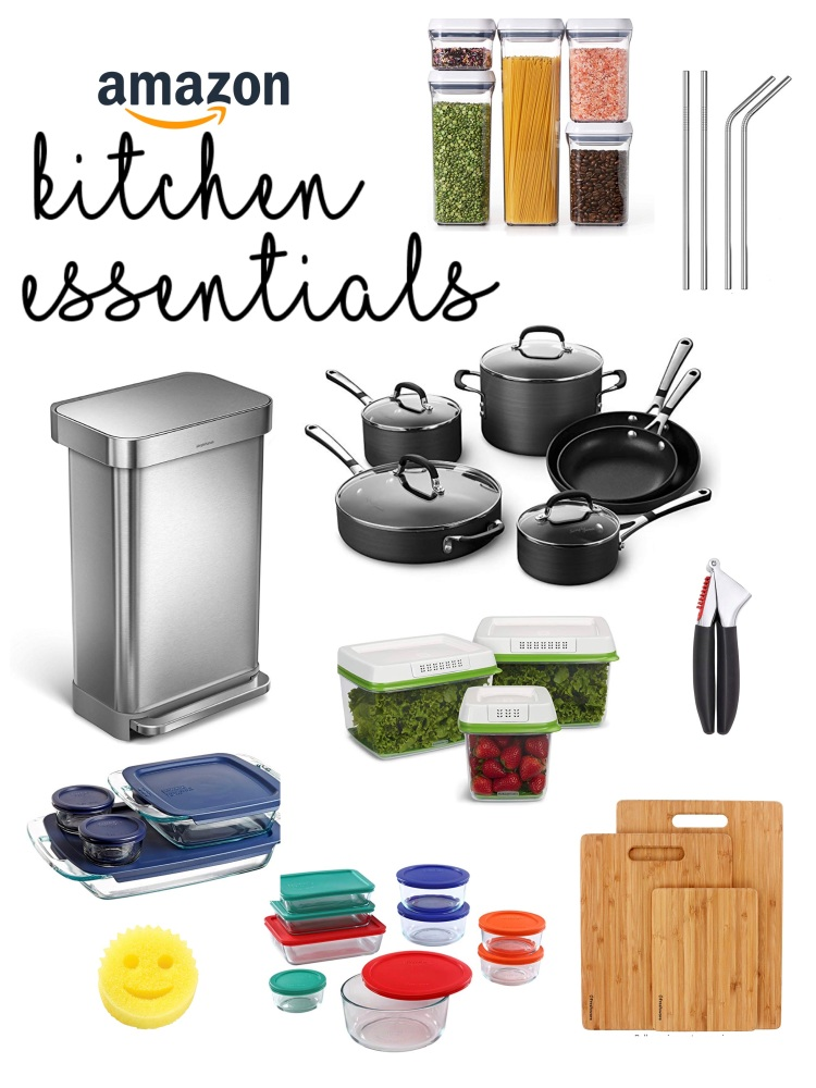 Amazon Kitchen Essentials: 10 Kitchen Essentials You Can Get On Amazon That We Can't